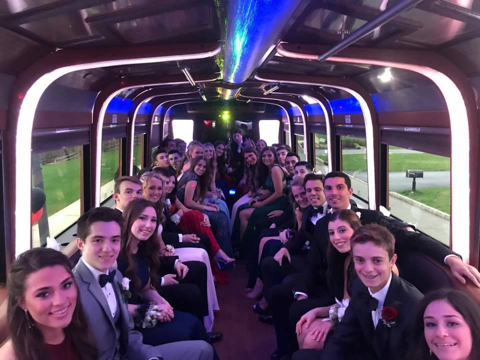 Prom Party Bus Limo Luxury Car Rentals New Jersey Nj