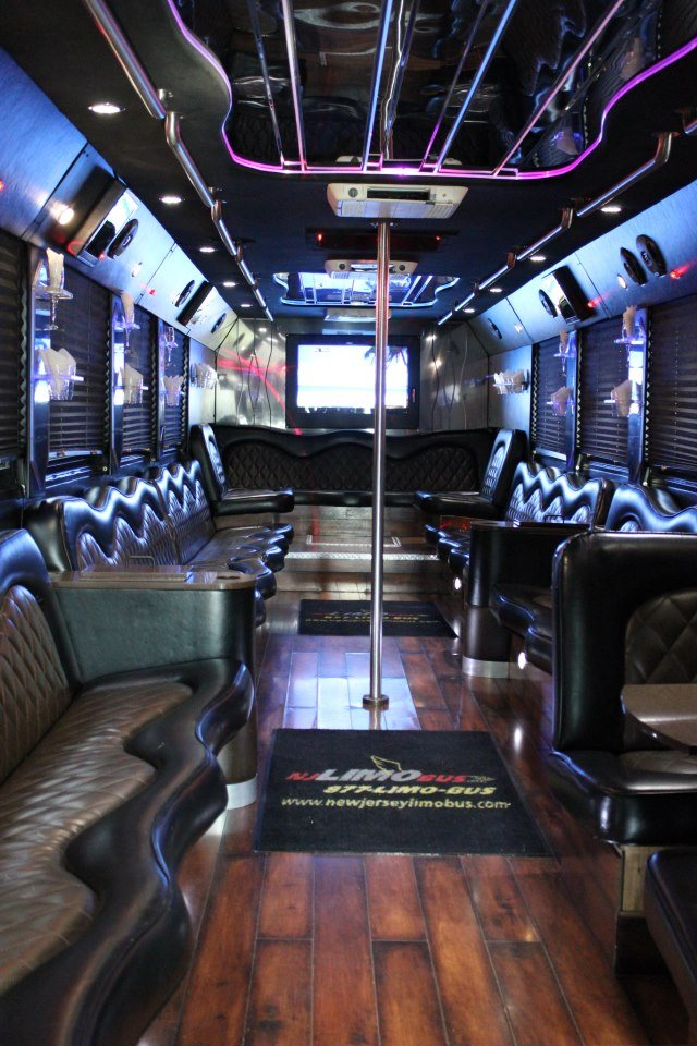 Tailgate In Style And Comfort With A Bathroom And An Array Of Other Modern  Amenities. Have A Server On The Party Bus To Greet And Serve Your Guests  While ...