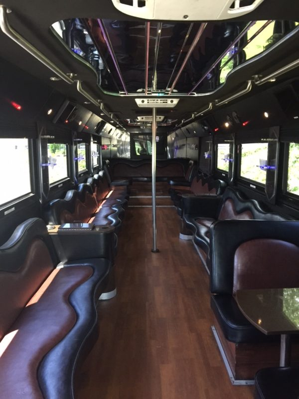 Ultimate 50 Passenger Limo Party Bus In Nj Nj Limo Bus Llc