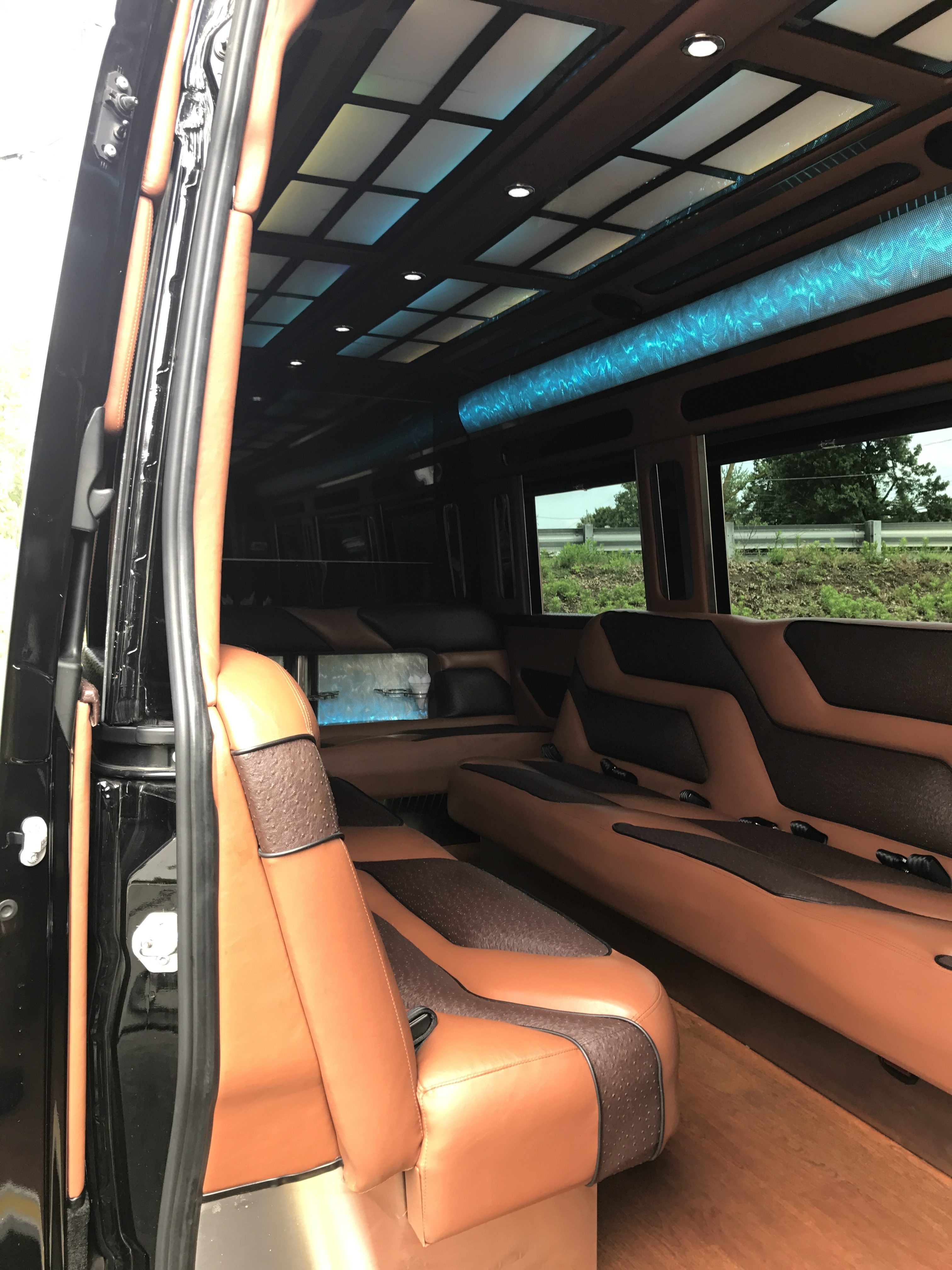 Mercedes benz sprinter 15 passenger party bus 3 nj limo for Mercedes benz sprinter 15 passenger